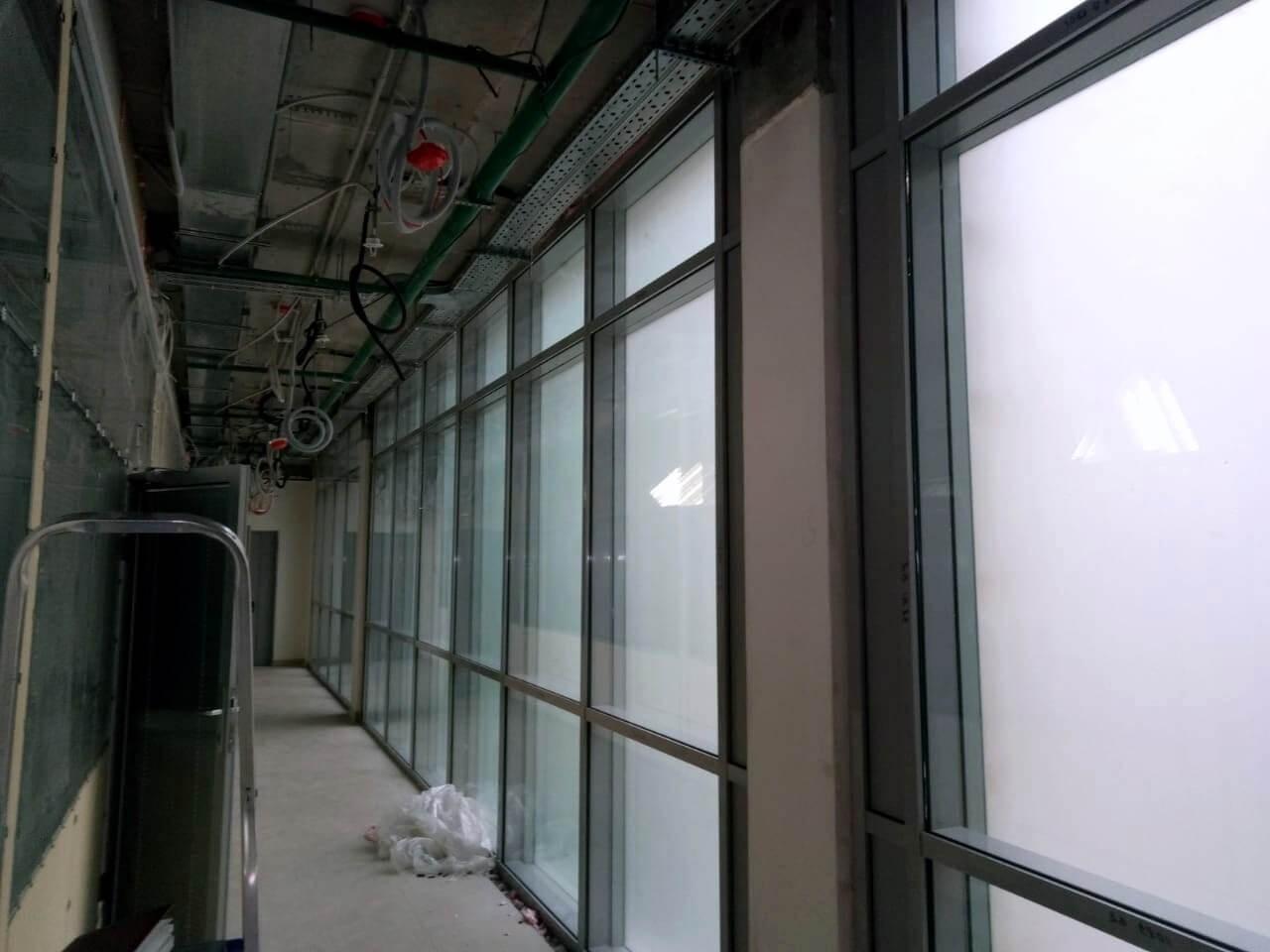 """Противопожарные окна для бизнес-центра """"ИНА ХАУС"""""""